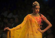 32 Fierce Looks From India's Fashion Week - Community Post: 32 Fierce Looks From India's Fashion Week - India Fashion Week, Lakme Fashion Week, Pakistani Bridal Wear, Pakistani Dresses, Celebrity Fashion Outfits, Celebrities Fashion, Celebrity Style, Ethnic Fashion, Modern Fashion