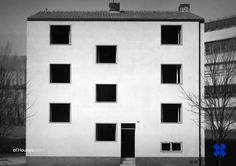 Oswald Mathias Ungers /// Apartment Building /// Hültzstrasse, Cologne-Braunsfeld, Germany /// 1951 - OfHouses