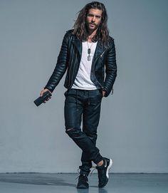 "@jackgreystone on Instagram ""Listen to the jacket and wear my music. #jacket by @bodaskins"""
