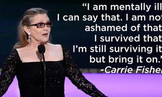 A Reminder That Carrie Fisher Was An O.G. Mental Health Hero | The Huffington Post