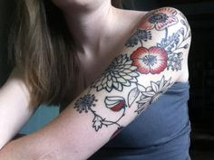 beautiful #flower #tattoo
