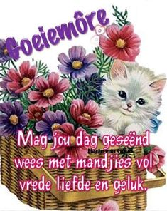 Morning Blessings, Good Morning Wishes, Good Morning Quotes, Lekker Dag, Afrikaanse Quotes, Goeie More, Special Quotes, Qoutes, Crochet Patterns