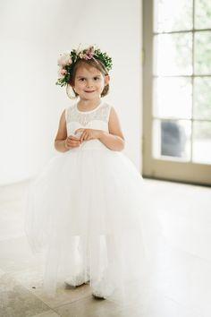 This munchkin! http://www.stylemepretty.com/2015/09/28/romantic-malibu-vineyard-wedding/ | Photography: Jana Williams - http://jana-williams.com/