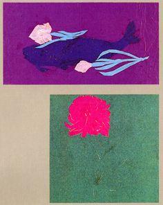 高村智恵子 切り絵 Chieko Takamura, Cut Picture