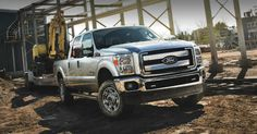 Massive Power from the Ford F-350 Super Duty V8 Diesel 4x4