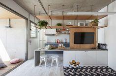 Apartamento pequeno: 10 projetos de apês incríveis e bem decorados com até 70 m²   CASA CLAUDIA
