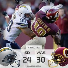 Chargers Postgame graphic