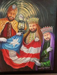 three kings day in puerto rico Puerto Rican Music, Puerto Rican Flag, We Three Kings, Kings Day, Puerto Rican Christmas, Mary Flowers, Caribbean Islands To Visit, King Picture, Puerto Rican Culture