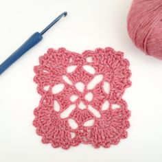 Crochet motif Sunday