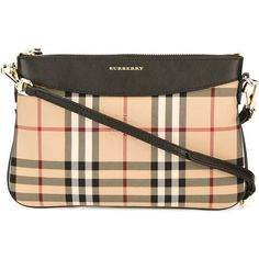 Burberry Horseferry check crossbody bag (6.442.465 IDR) ❤ liked on Polyvore featuring bags, handbags, shoulder bags, black, crossbody purses, crossbody shoulder bags, genuine leather shoulder bag, burberry shoulder bag and burberry crossbody