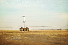 Granary Country Field Landscape Photography 8x12 by MaleahTorney, $30.00