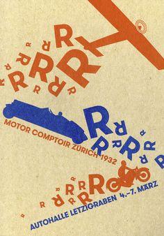 Plakat von Erich Brechbühl