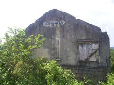 Antiga estação de Bongaba (Ramal Guapimirim) Essa estação está atualmente desativada.