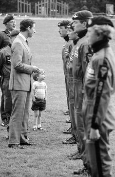 Prince Charles and little Prince William