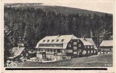 Šerlišský Mlýn na dobové fotografii (cca 30. - 40. léta)