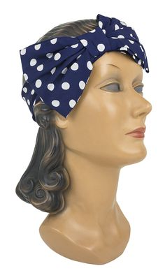 Add some fun to your look with the new Trashy Diva Bow Headband in Big Polka!