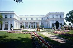 Rosecliff Mansion. Newport, RI. Used as Gatsby's house in the film starring Robert Redford.