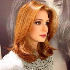 Marina Ruy Barbosa com o cabelo curto para a personagem de