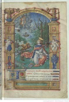 From 'Livre d'heures, en latin' 1501-1600