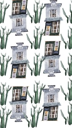Etsy Handmade, Handmade Items, Handmade Gifts, Etsy Vintage, Crooked House, House Illustration, Winter, Collaboration, Online Shopping