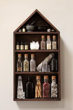 NEW! The House of Apothecary Shelf. Potions ingredients