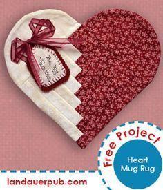 Heart Mug Rug                                                                                                                                                     Mehr