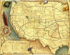 Deadlands - Mapa PT