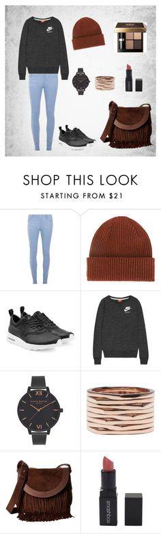 """Sans titre #83"" by margaux5310 ❤ liked on Polyvore featuring Dorothy Perkins, Paul Smith, NIKE, Olivia Burton, Repossi, Frye, Smashbox, Bobbi Brown Cosmetics, StreetStyle and outfit"