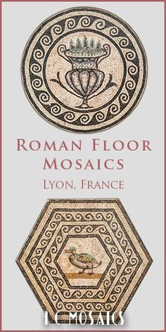 Watch this video and be inspired by the Roman mosaic panels and patterns! Incredible!