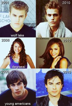 then and now tvd