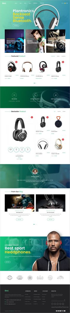 Sirol is beautifully design responsive #WordPress theme for #webdev stunning #eCommerce website with 6 homepage layouts and unlimited colors download now➩ https://themeforest.net/item/sirol-headphone-digital-accessories-wordpress-theme/18705298?ref=Datasata