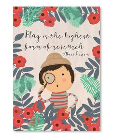 """""""Play is the highest form of research."""" Albert Einstein Illustration by Mia Charro Sean Parker, E Mc2, Lectures, Children's Book Illustration, Wall Quotes, Quotes Quotes, Early Childhood, Book Design, Kids Playing"""