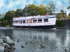 Erie Canal Loch Tour - Rochester, NY.  Did this.  It was so much fun, and the song I learned when I was little ran thru my head the whole time. Fun!!!!
