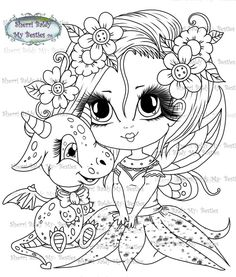 Free Kids Coloring Pages, Cartoon Coloring Pages, Coloring Book Pages, Coloring Pages For Kids, Unicornios Wallpaper, Icon Png, Dragon Coloring Page, Creation Art, Digi Stamps