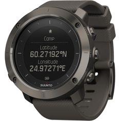 Suunto Traverse GPS Watch   Graphite