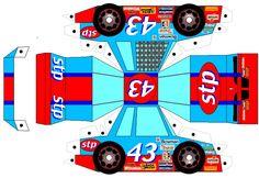 Recortables de coches de Fórmula 1  Stp 43