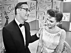 Judy Garland & Steve Allen - Sophie Medley (The Judy Garland Show) Allen Show, Steve Allen, Judy Garland, Comedy, Religion, Memories, Film, Tv, Classic