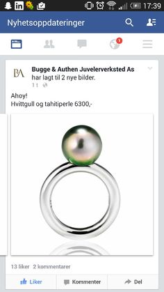 Gorgeous ring from bugge&authen!