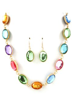 Audrey Necklace on Emma Stine Limited  Love all the colors - you could wear with everything!!