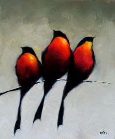 """Bird Series"" by Harold Braul at Crescent Hill Gallery"