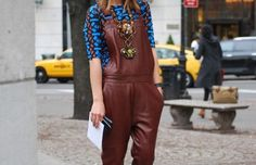 Street Style Special Edition: Industry Style-Crush Miroslava Duma On Looking Like a 'Stylish Cabbage' - Fashionista