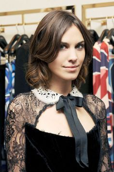 Check out Alexa Chung's and other leading ladies holiday hair do's.