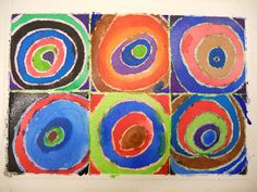 Create Art With Me!: Kandinsky Circles Watercolors