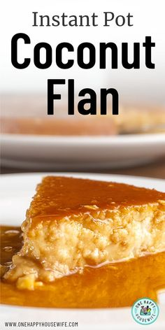 Instant Pot Coconut Flan is so unbelievably smooth and creamy. Loaded to the max with coconut flavor, this dessert embodies the taste of Latin America. This will be your new favorite Instant Pot dessert recipe, guaranteed! Instant Pot Flan Recipe, Instant Pot Dinner Recipes, Tiramisu Dessert, Instant Pot Pressure Cooker, Pressure Cooker Recipes, Easy Desserts, Dessert Recipes, Filipino Desserts, Cobbler