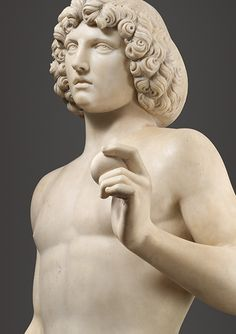 Tullio Lombardo (Italian, ca. 1455–1532), Adam, ca. 1490–95, Italian, Venice, Marble | The Metropolitan Museum of Art