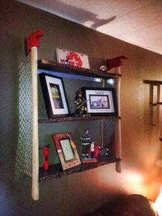 Fire Axe Shelf   Shared by LION