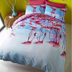 1000 Images About Flamingo Doona Cover On Pinterest
