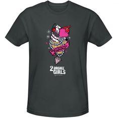 2 Broke Girls Max's Cupcakes T-Shirt