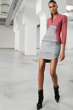 Antonio Berardi Pre-Fall 2015 Fashion Show - Cindy Bruna