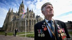 D-Day veteran Victor Walker, 88, is among those attending the remembrance service at Bayeux Cathedral
